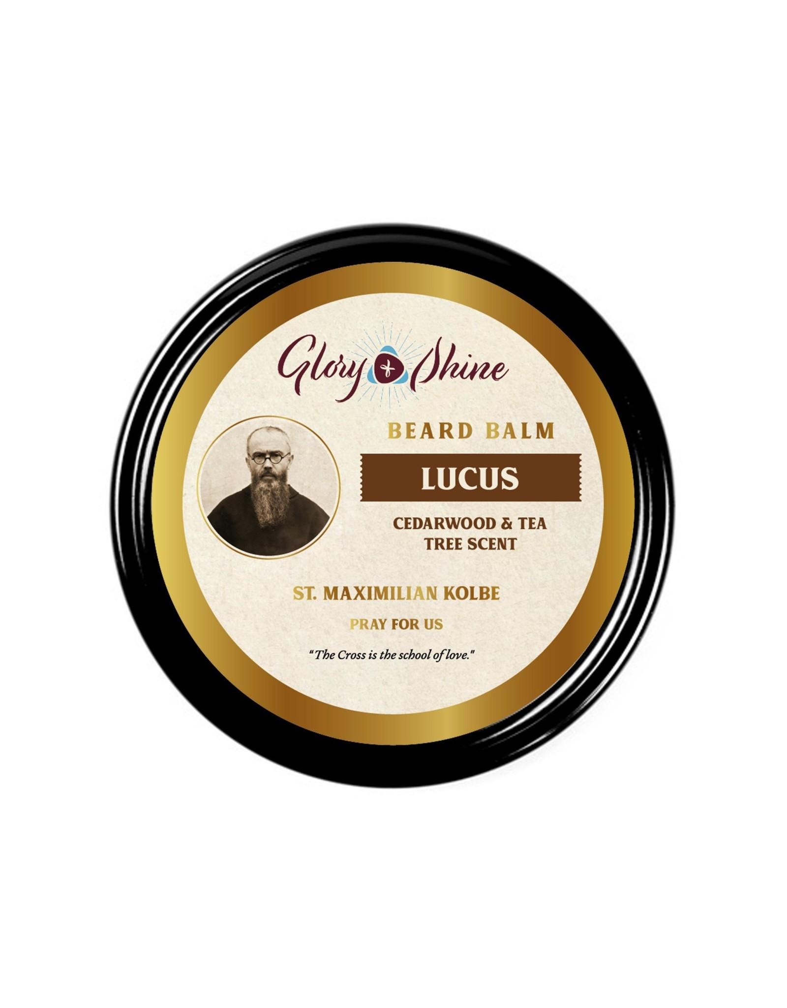 Beard Balm - Lucas (Tea Tree & Cedarwood) - St. Maximilian Kolbe