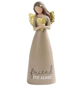 """Angel Holding Heart - Friend for Always (6"""")"""