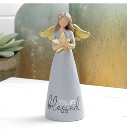 """Angel Holding Star- You are Blessed (6"""")"""