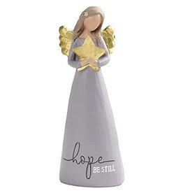 "Angel Holding Star- Hope Be Still (6"")"