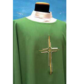 Dalmatic 334 - Available in Green, Purple, Red, & White