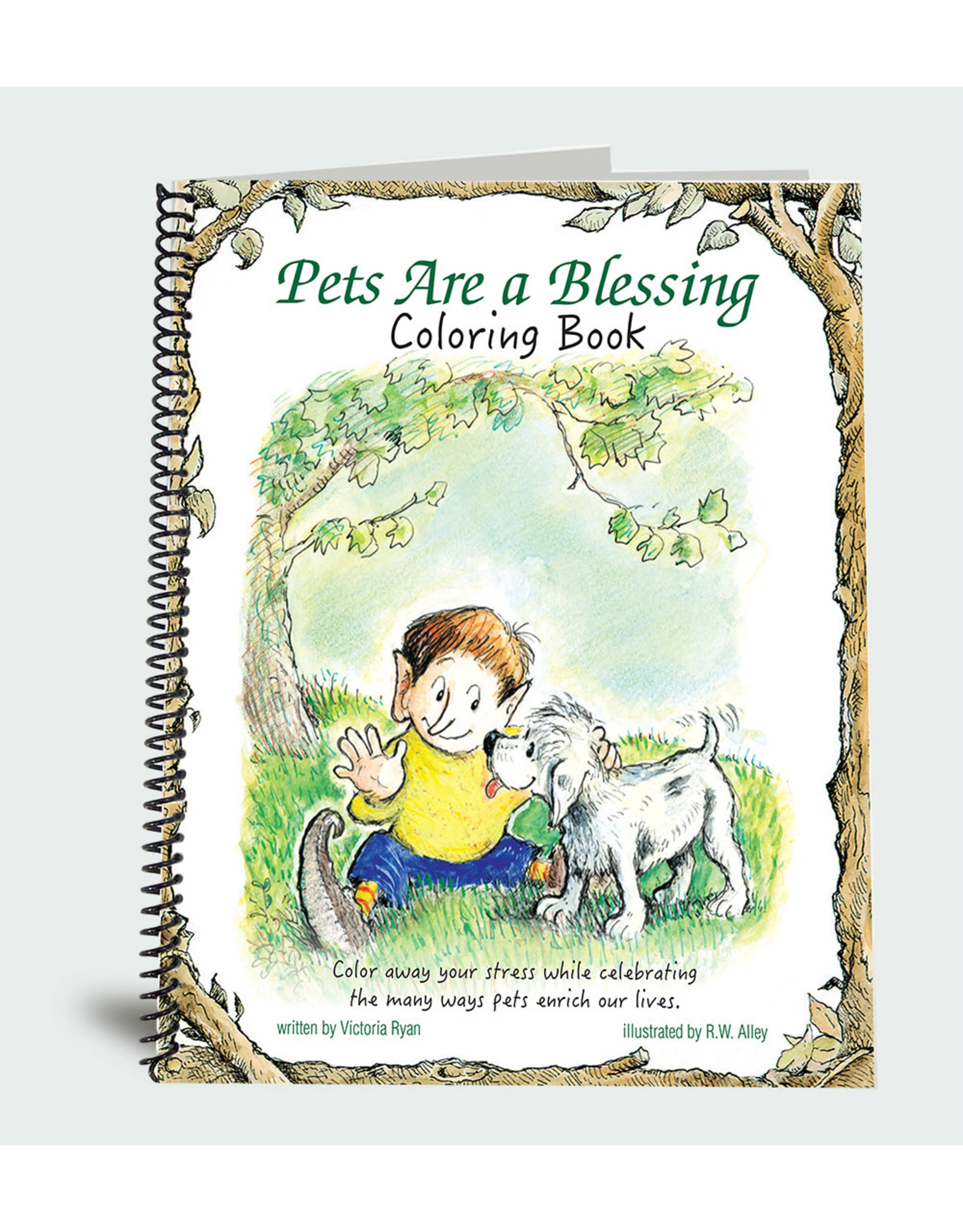 Elf Help Coloring Book - Pets Are a Blessing