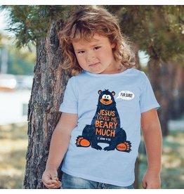 Baby Shirt - Jesus Loves Me Beary Much