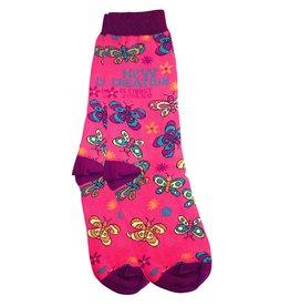 Bless My Sole Socks - Butterfly