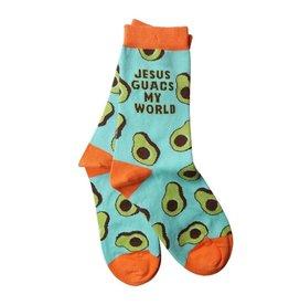 Bless My Sole Socks - Jesus Guacs My World