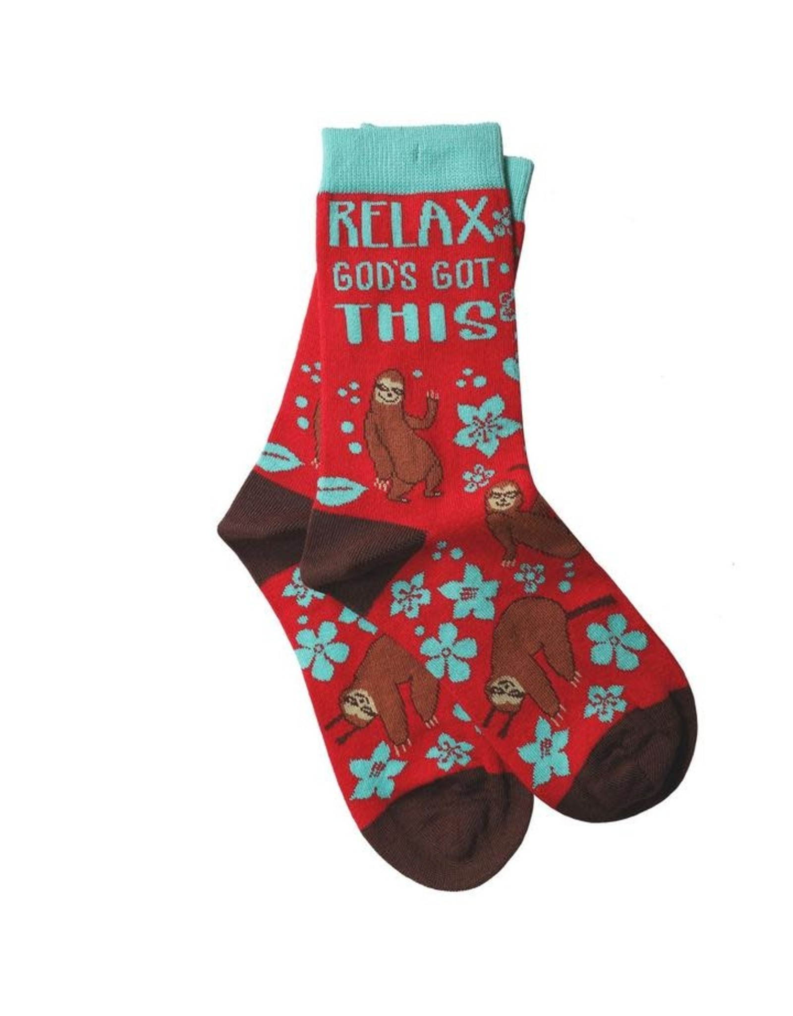 Bless My Sole Socks - Relax Sloth