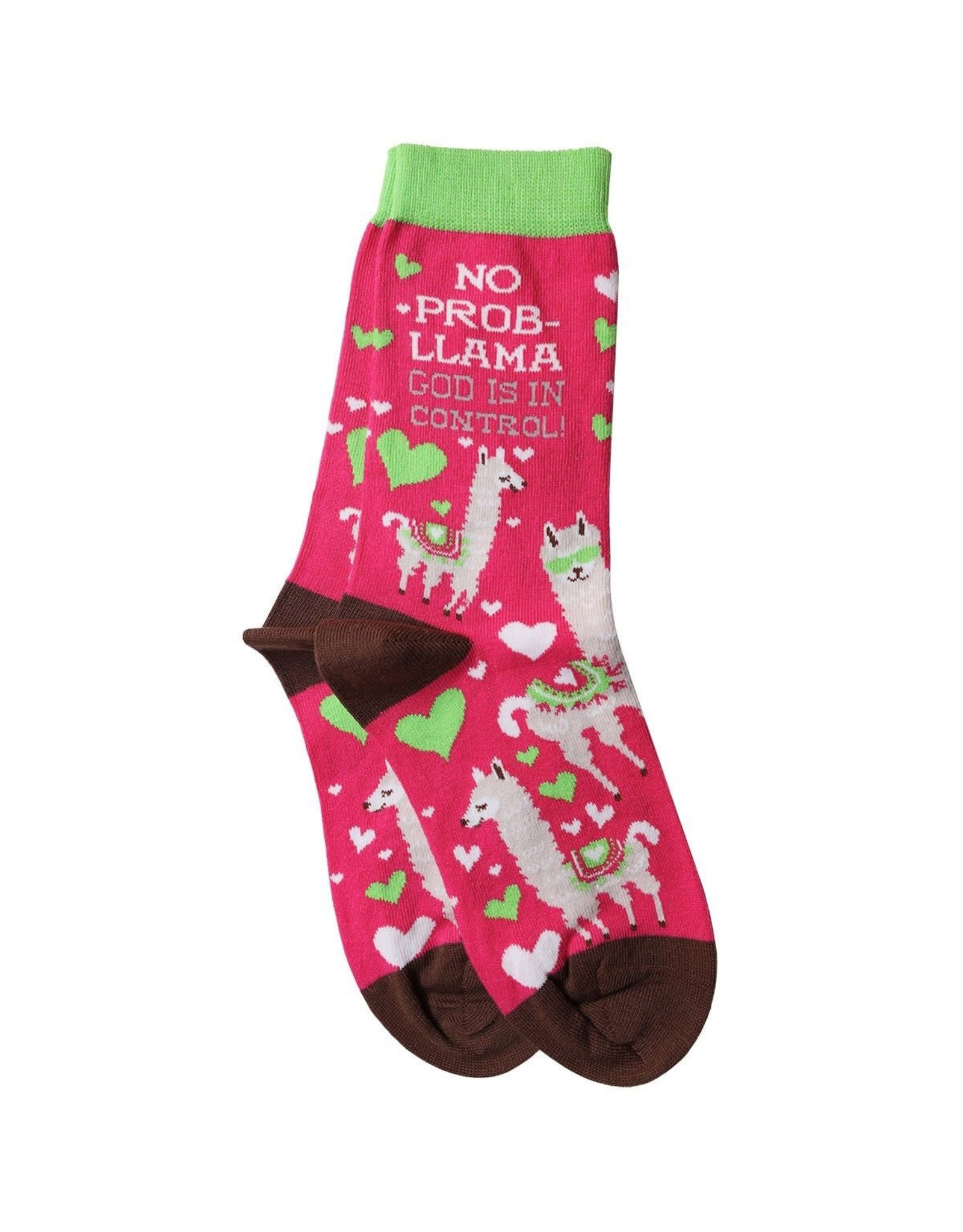 Bless My Sole Socks - Llama