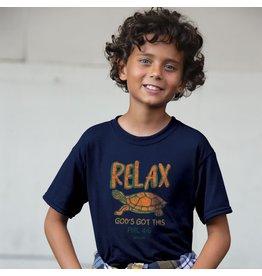 Kids Shirt - Turtle (Relax, God's Got This)