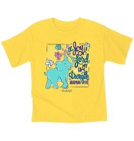 Kids Shirts - Elephant, The Joy of the Lord