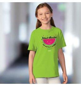 Kids Shirt - Watermelon (Jesus Thinks I'm One in a Melon)