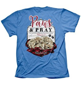Adult Shirt - Paws and Pray