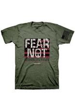 Adult Shirt - Fear Not, Flag