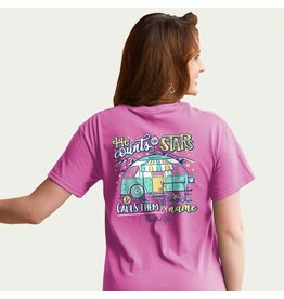 Adult Shirt - He Counts the Stars, Camping