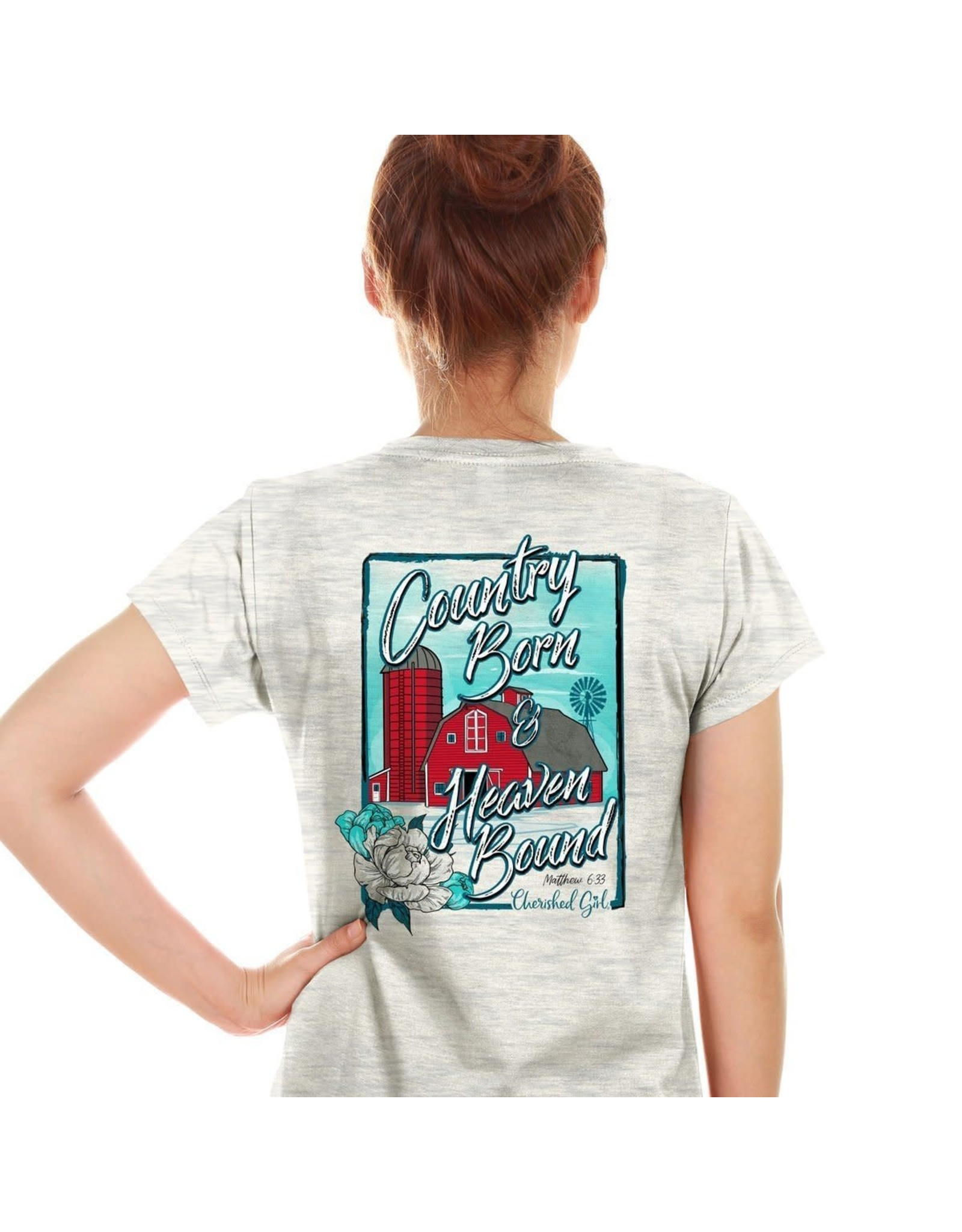 Adult Shirt - Country Born & Heaven Bound