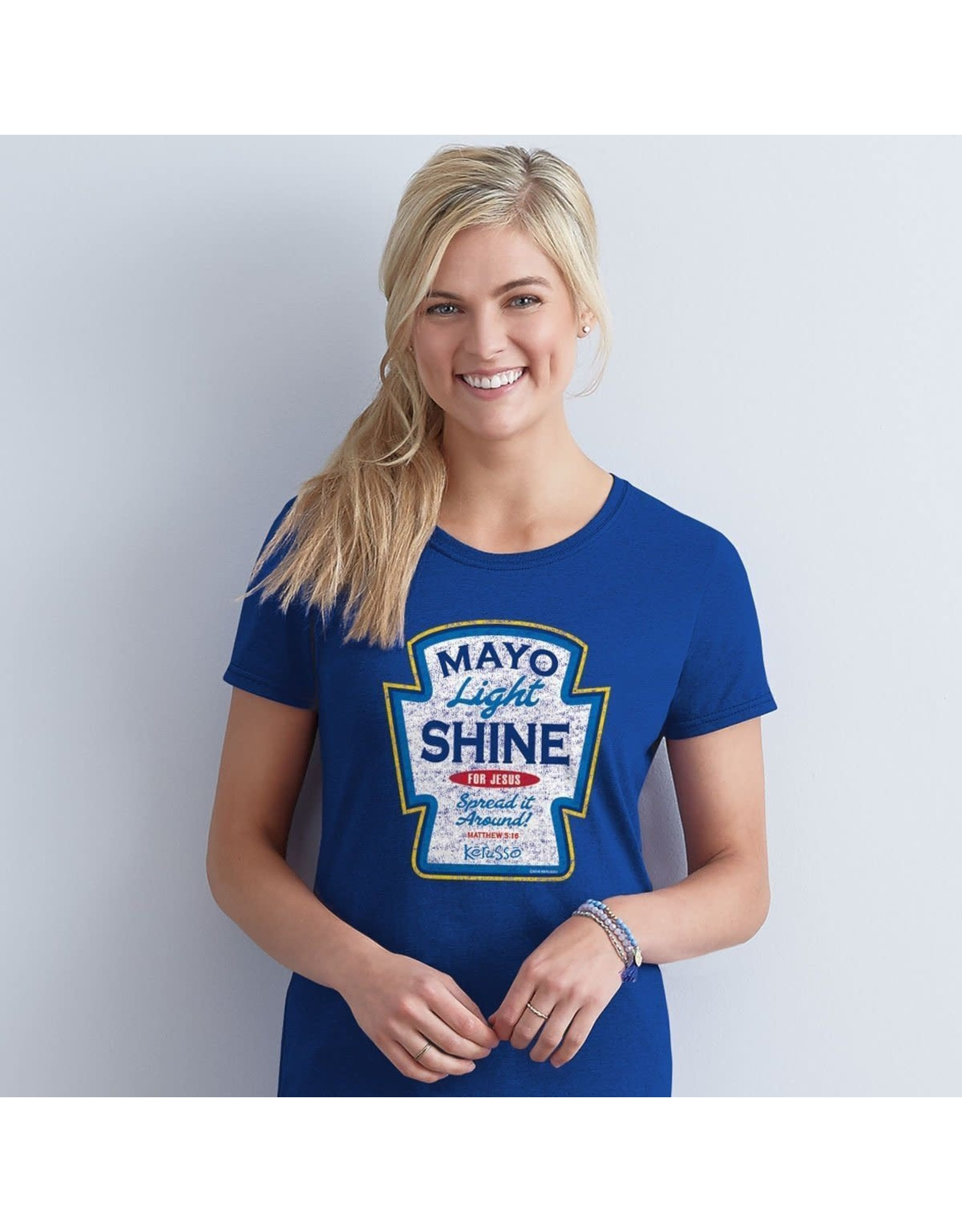 Adult Shirt - Mayo Light Shine