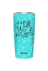 20oz Stainless Steel Tumbler - It Is Well with my Soul