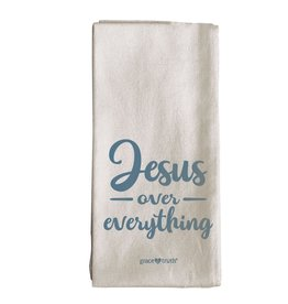 Tea Towel - Jesus over Everything