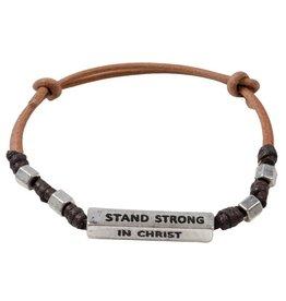 Stand Strong in Christ Men's Bracelet