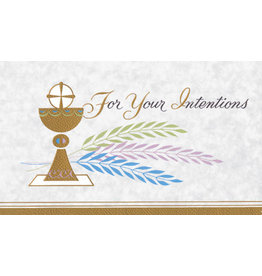 Mass Cards - Living, Cup of Salvation (100)