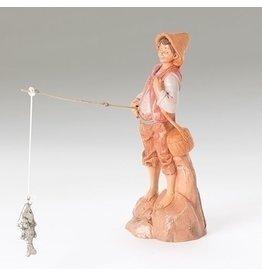 """Fontanini - Jacob, Fisherman 2pc Set (5"""" Scale)"""