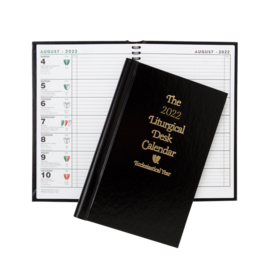 2022 Liturgical Desk Calendar Hardcover