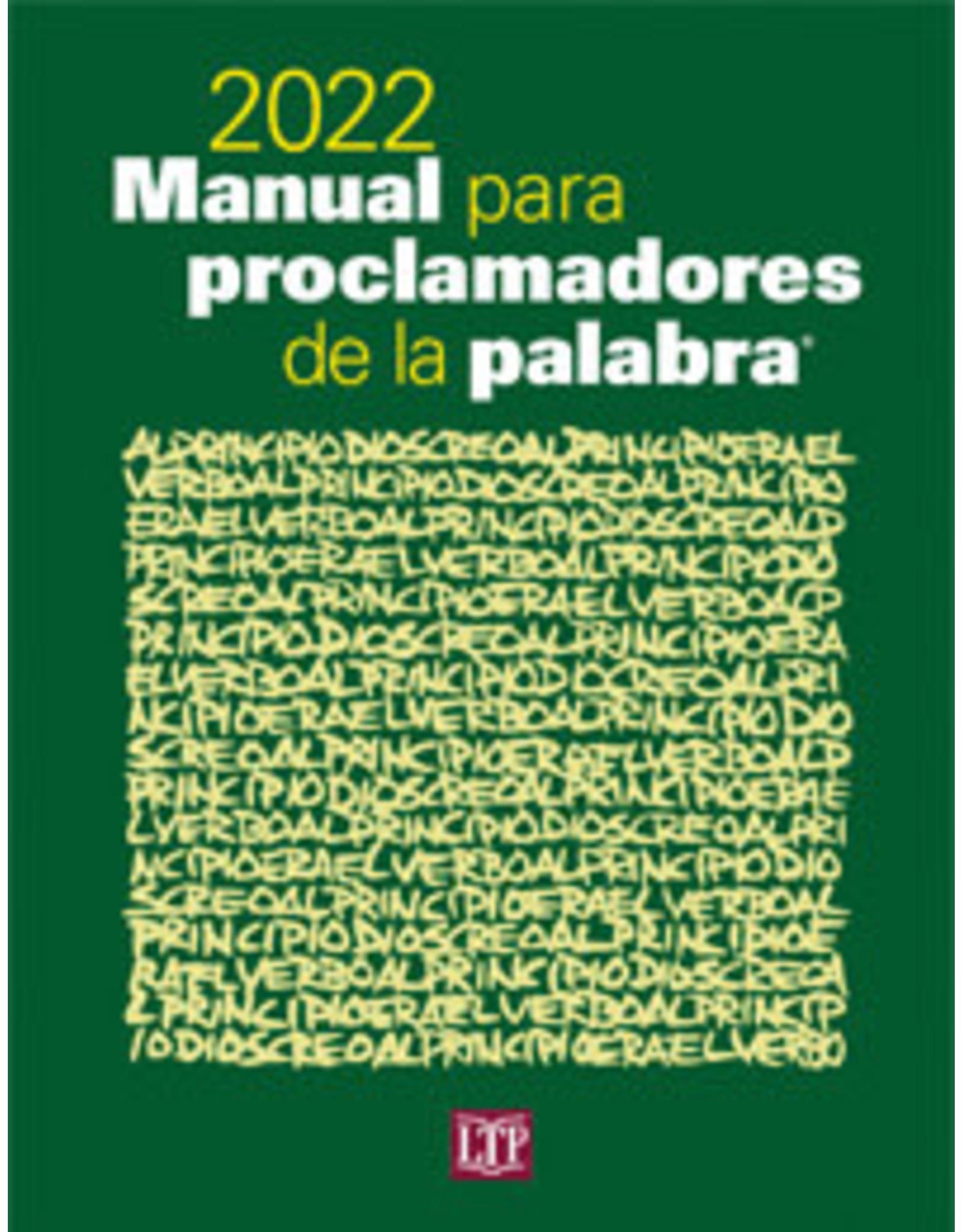 2022 Manual para Proclamadores de la Palabra