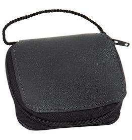 Zipper Burse with Pocket (4x4x1)