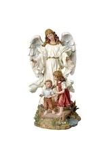 "10"" Classic Guardian Angel Statue"
