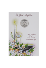 Baptism Card with Token
