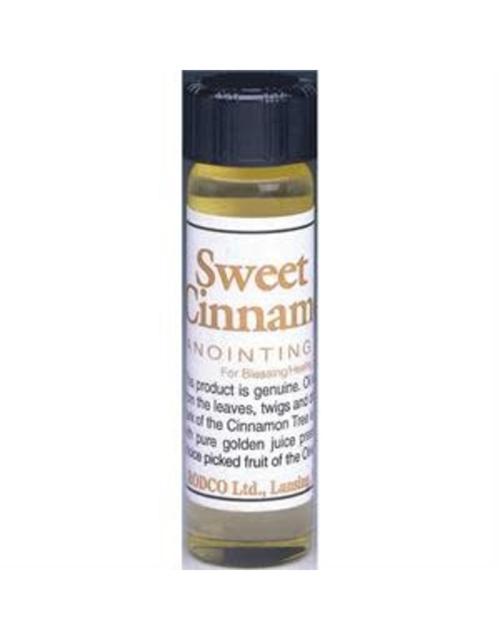 Anointing Oil Cinnamon 1/4oz