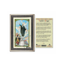 "St John Baptist de la Salle Necklace, ""Teacher's Prayer"""