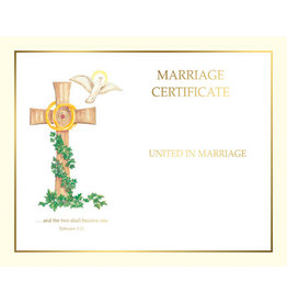 Create Your Own Marriage Certificates (50)
