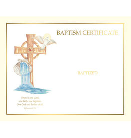 Create Your Own Baptism Certificates (50)