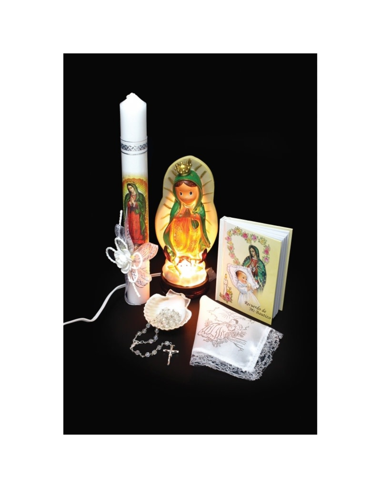 Baptism Set (Spanish), Our Lady of Guadalupe with Nightlight Statue