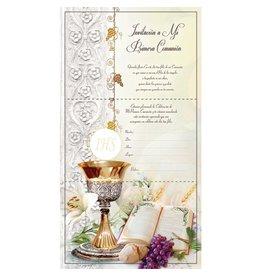 First Communion Invitations, Spanish (Set of 10)