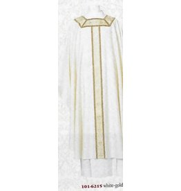 Chasuble - White - Europa Fabric - Exclusive Francis Collection