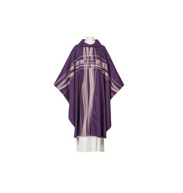 Chasuble - Seta Collection - Purple with Cowl Neck