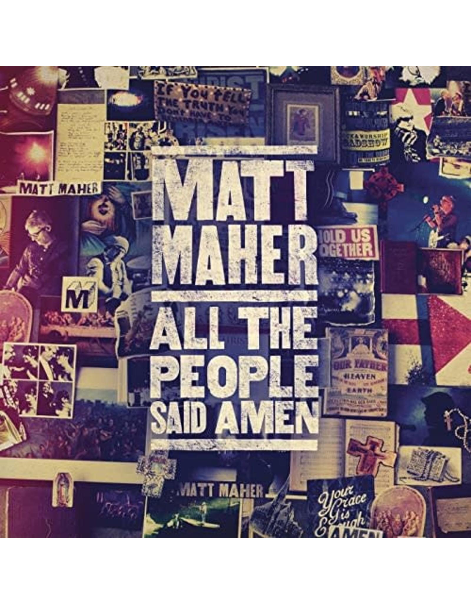 All the People Said Amen CD - Matt Maher