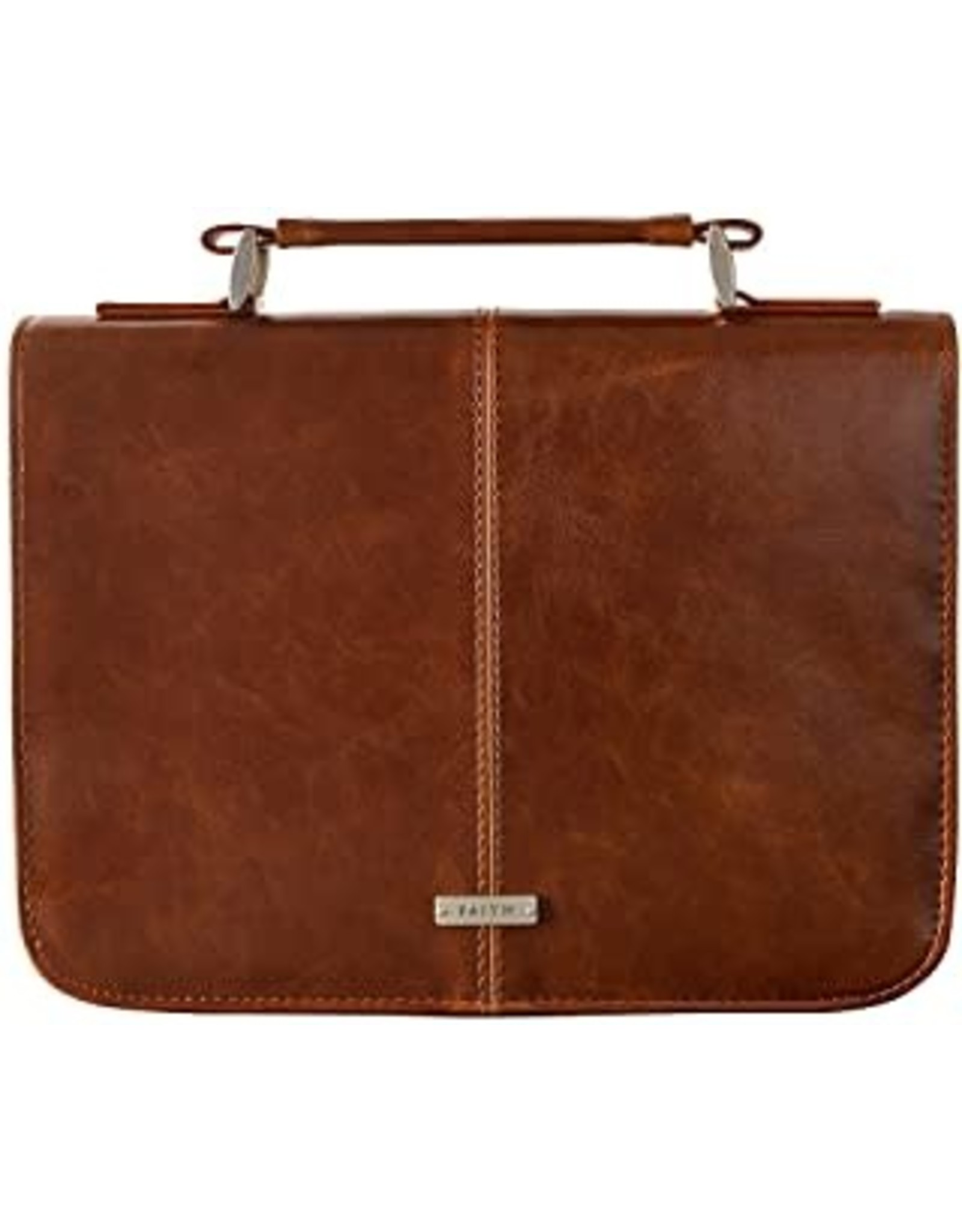 Bible Cover Medium Brown Leather-Look