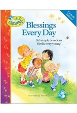 Blessings Every Day: 365 Simple Devotions for the Very Young ( Little Blessings )