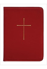 Book of Common Prayer-Red Leather