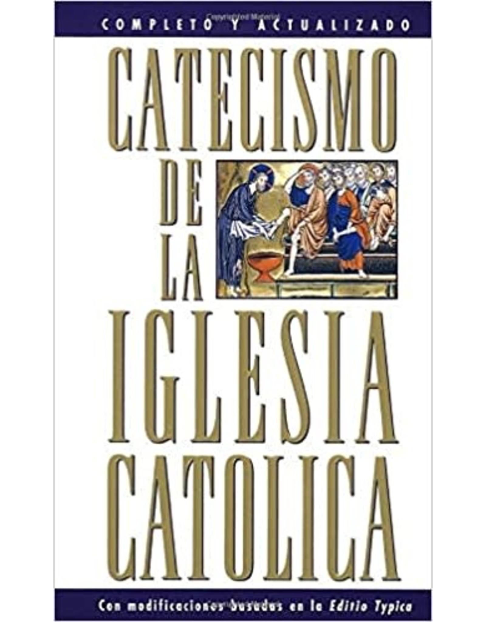 Catecismo de la Iglesia Catolica (White Paperback)