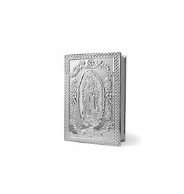Wedding Bible Latino America Silver Our Lady of Guadalupe