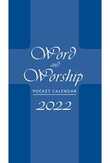 2022 Pocket Calendar - Word & Worship