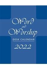 2022 Desk Calendar - Word & Worship