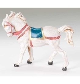 """Fontanini - Horse with Blanket (5"""" Scale)"""