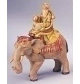 "Fontanini - Gaspar on Elephant (5"" Scale)"