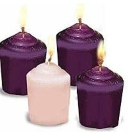 Votive Advent Candles