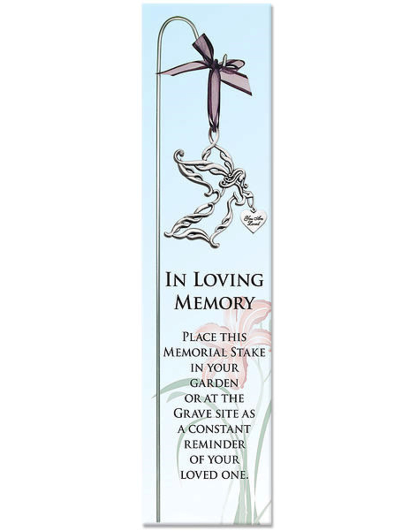 Angel Memorial Garden Stake (In Loving Memory)