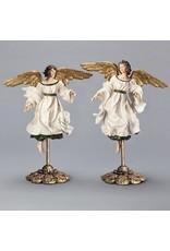"""Angel Figurine on Ornate Pedestal (16"""")"""
